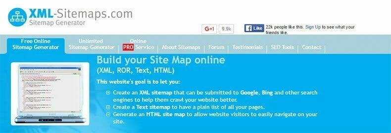 Sitemap