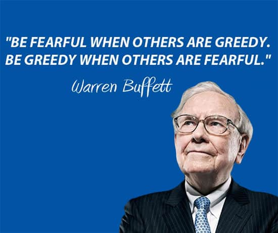 Be Fearful When Others Are Greedy